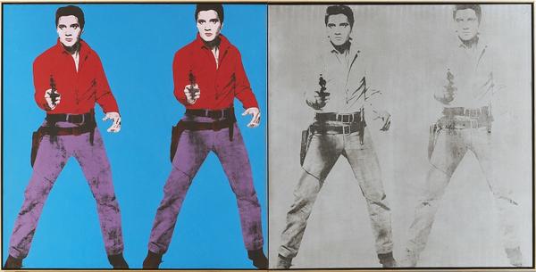Bridgeman  Warhol  Elvis I and II  1963   996241 lille