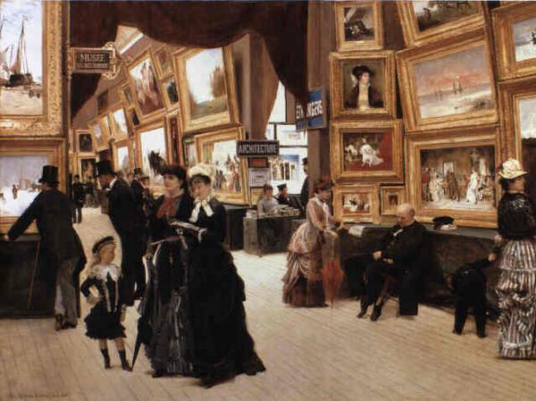 Udstilling   Edouard Joaseph Dantan  1880  Rlbberlin  2006  Wikimedia Commons   public domain  01